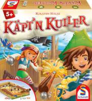 Schachtel Vorderseite - nominiert zum Kinderspiel 2021 - Käpt
