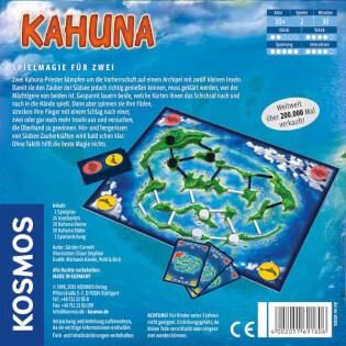 Schachtel Rückseite- Kahuna