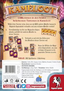 Schachtel Rückseite- Kameloot