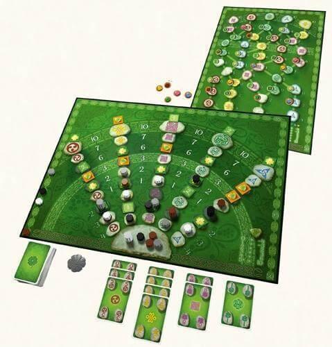 Spielmaterial - Spiel des Jahres 2008- Keltis