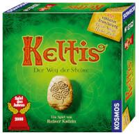 Schachtel Vorderseite - Spiel des Jahres 2008 - Keltis