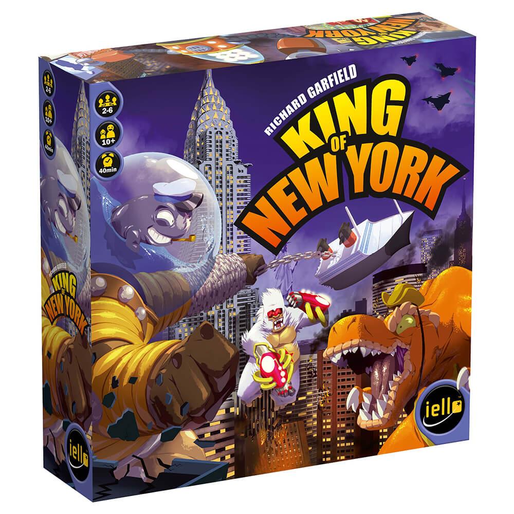 Schachtel Vorderseite links- King of New York