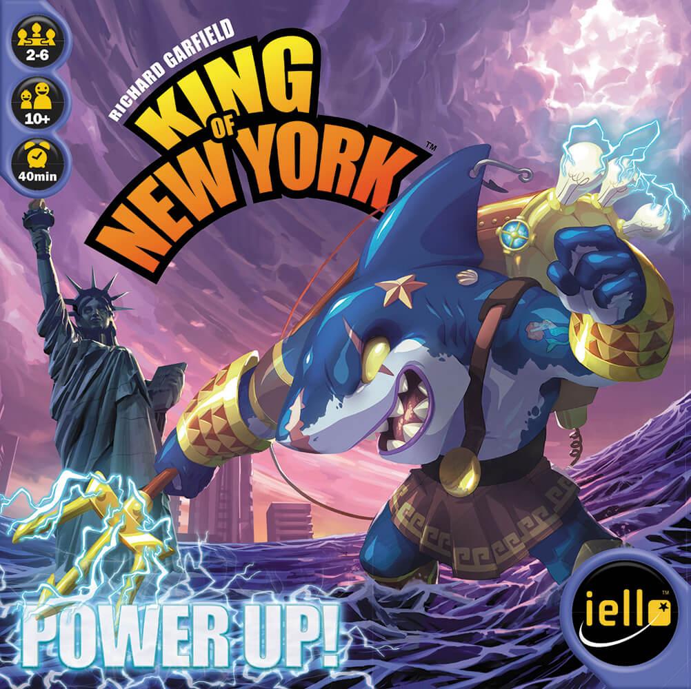 Schachtel Vorderseite- King of New York: Power Up