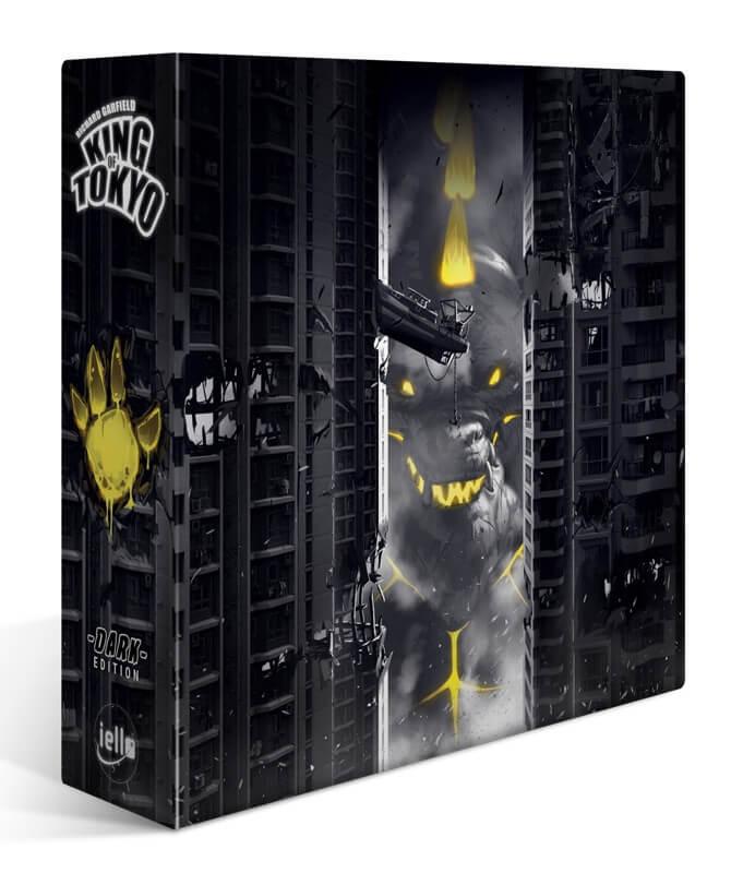 Schachtel Vorderseite- King of Tokyo - Dark Edition