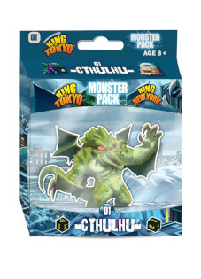 Schachtel Vorderseite- King of Tokyo: Monsterpack 1 Cthulhu