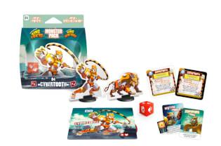 Spielmaterial gesamt- King of Tokyo: Monsterpack 4 Cybertooth