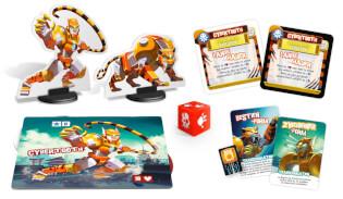 Spielmaterial Monster- King of Tokyo: Monsterpack 4 Cybertooth