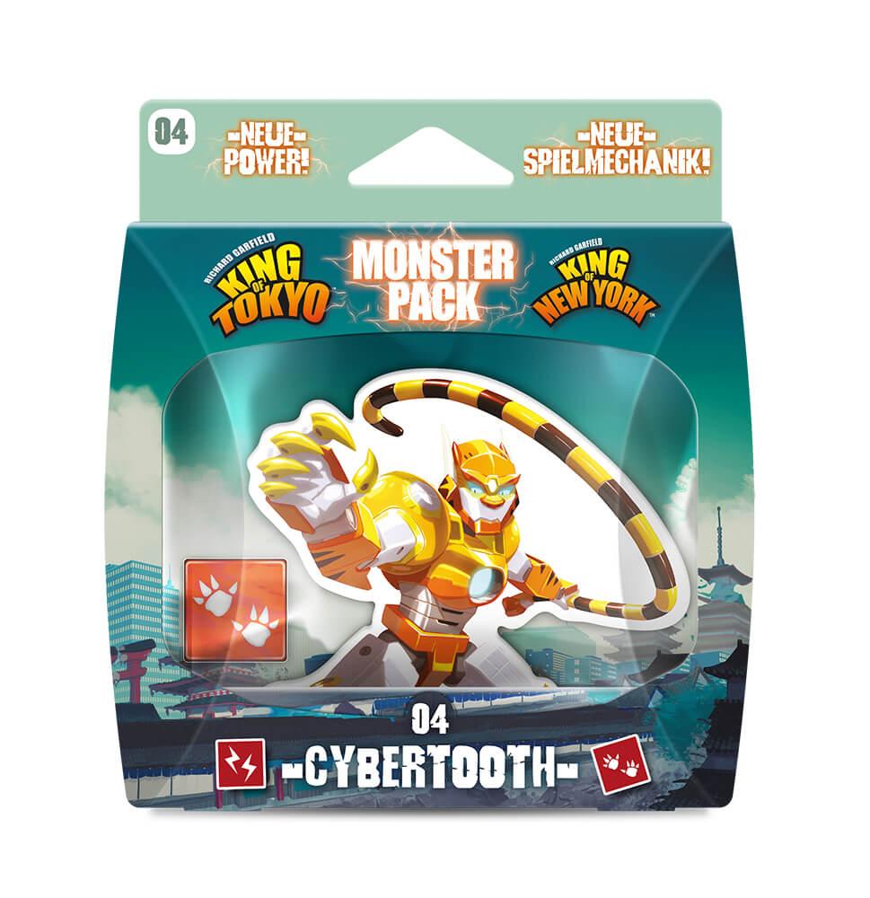 Schachtel Vorderseite- King of Tokyo: Monsterpack 4 Cybertooth