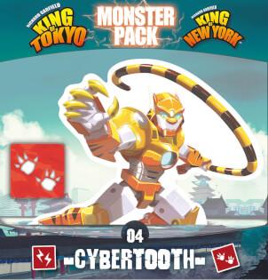 Schachtel Vorderseite Fokus- King of Tokyo: Monsterpack 4 Cybertooth