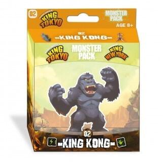 Schachtel Vorderseite- King of Tokyo: Monsterpack 2 King Kong