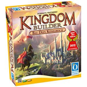 Schachtel Vorderseite - Spiel des Jahres 2012- Kingdom Builder