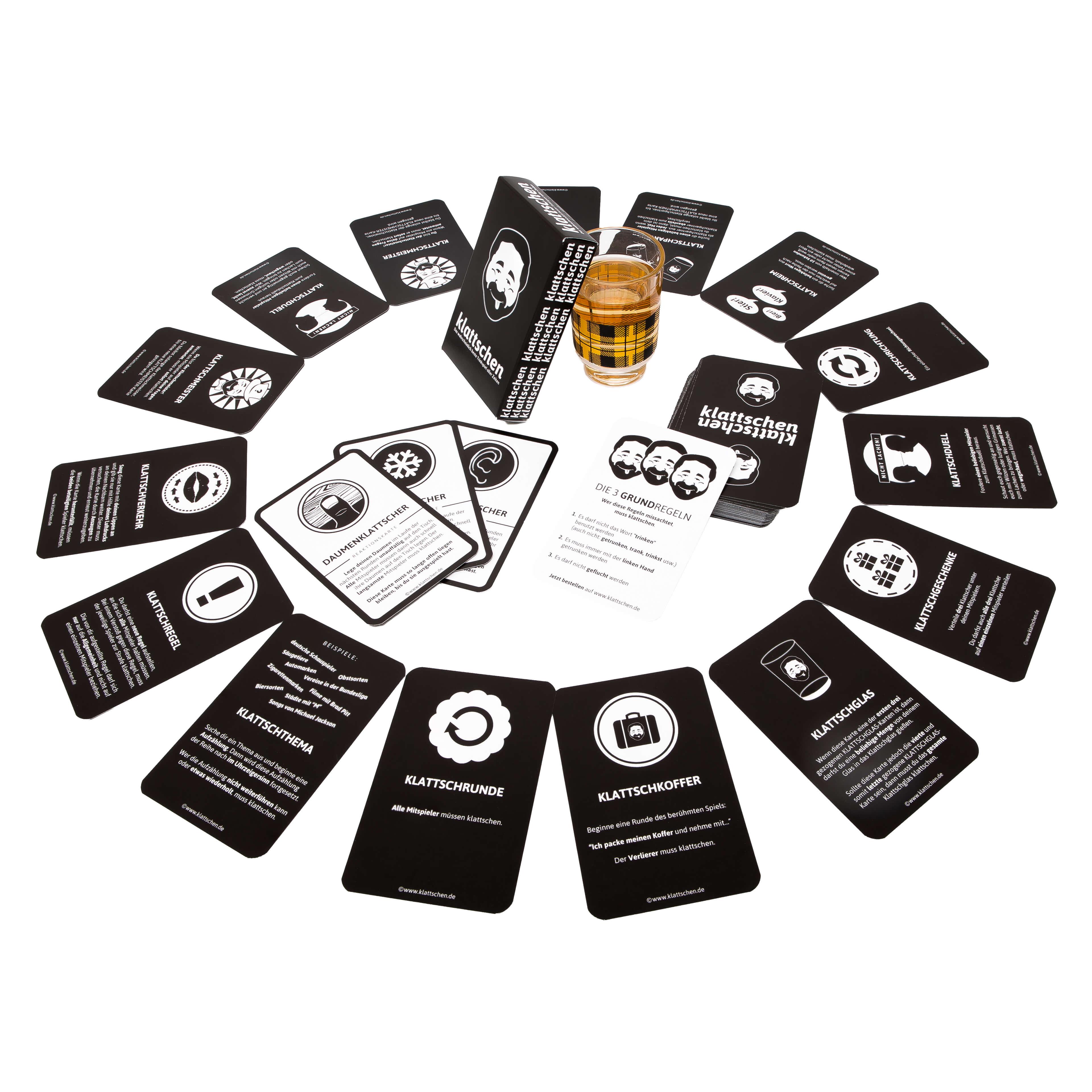 Spielkarten- klattschen - Das wahrscheinlich beste Trinkspiel aller Zeiten