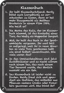 Antwortenkarte- Kneipenquiz: Back to School