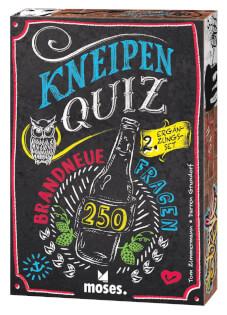 Schachtel Vorderseite, rechte Seite- Kneipenquiz: 250 Brandneue Fragen