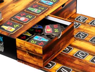Spielschachtel mit Schubladen- Kneipenquiz - Das Original