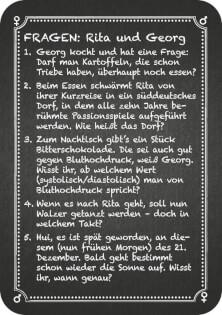 Spielkarte Beispiel- Kneipenquiz: Pärchenabend
