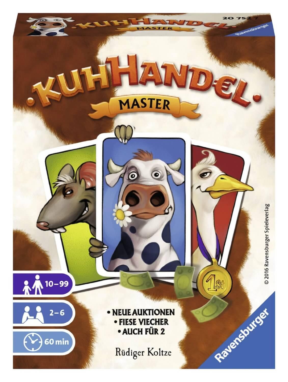 Schachtel Vorderseite- Kuhhandel Master