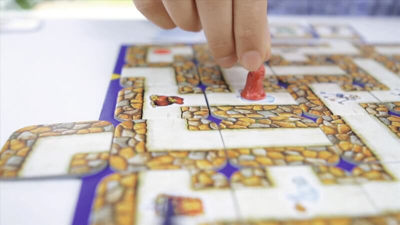 Spielfeld- Das verrückte Labyrinth