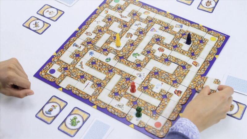 Spielmaterial- Das verrückte Labyrinth