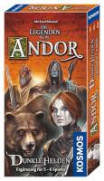 Schachtel Vorderseite - Die Legenden von Andor - Dunkle Helden
