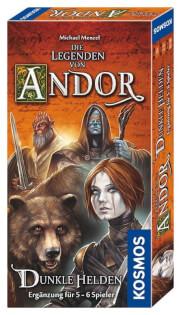 Schachtel Vorderseite- Die Legenden von Andor - Dunkle Helden
