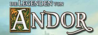 Banner Legenden von Andor- Die Legenden von Andor - Dunkle Helden