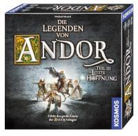 Schachtel Vorderseite, rechte Seite - Die Legenden von Andor – Teil III: Die letzte Hoffnung