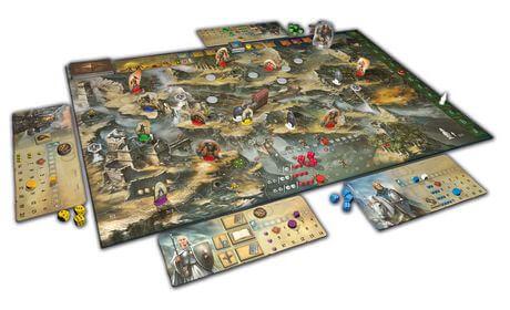 Spielmaterial- Die Legenden von Andor – Teil III: Die letzte Hoffnung
