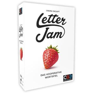 Schachtel Vorderseite- Letter Jam