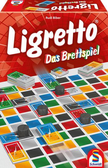 Schachtel Vorderseite- Ligretto - Das Brettspiel