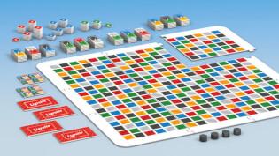 Spielbrett- Ligretto - Das Brettspiel