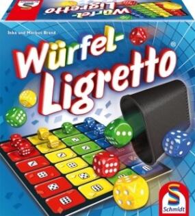 Spielschachtel- Dice Ligretto