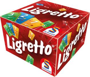 Schachtel Vorderseite- Ligretto rosso