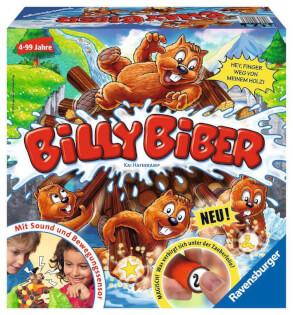 Schachtel Vorderseite- Billy Biber