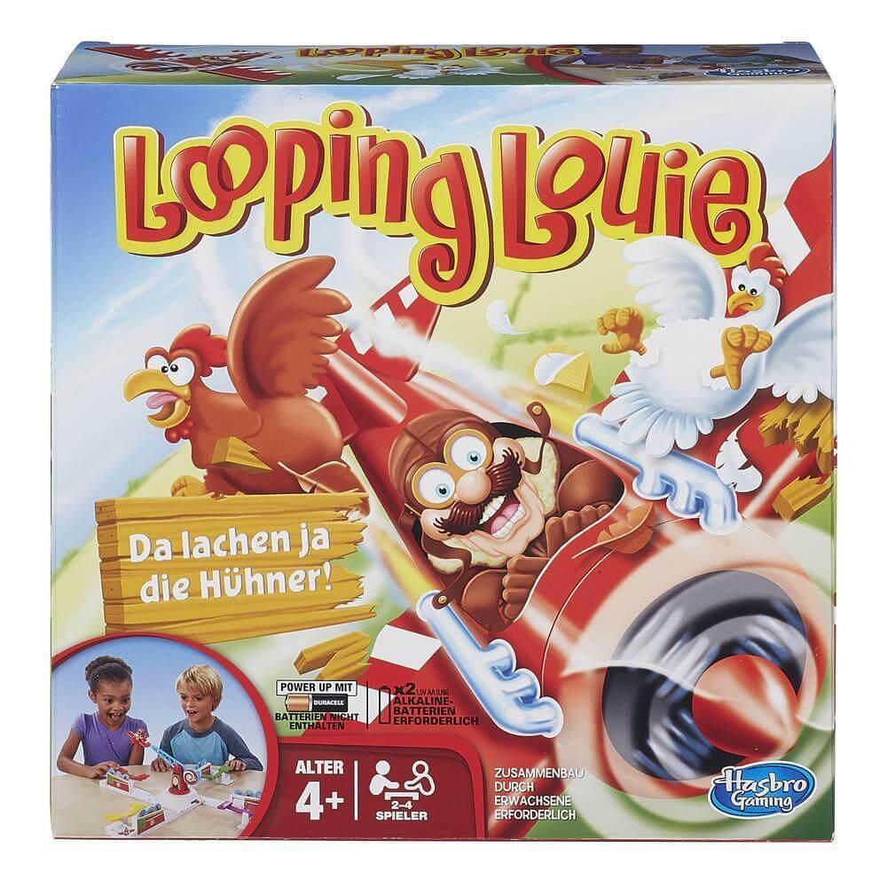 Schachtel Vorderseite- Looping Louie