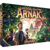 Schachtel Vorderseite - nominiert zum Kennerspiel des Jahres 2021 - Die verlorenen Ruinen von Arnak