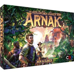 Schachtel Vorderseite - nominiert zum Kennerspiel des Jahres 2021- Die verlorenen Ruinen von Arnak