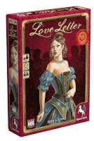 Schachtel Vorderseite, linke Seite - Love Letter