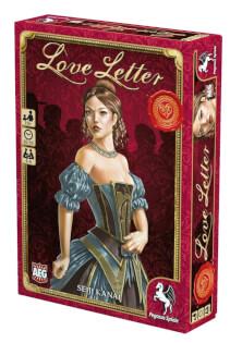Schachel Vorderseite, rechte Seite- Love Letter
