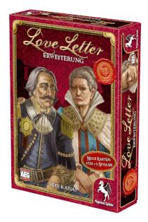 Schachtel Vorderseite, rechte Seite- Love Letter Erweiterung