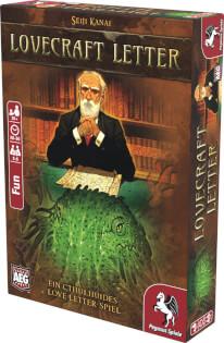 Schachtel Vorderseite, rechte Seite- Lovecraft Letter