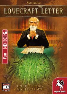 Schachtel Vorderseite- Lovecraft Letter