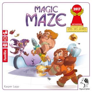 Schachtel Vorderseite- Magic Maze