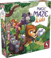 Schachtel Vorderseite linke seite  - Magic Maze: Kids