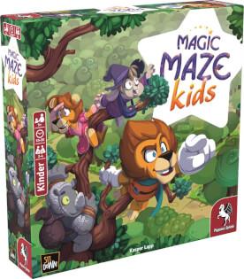 Schachtel Vorderseite linke seite - Magic Maze Kids