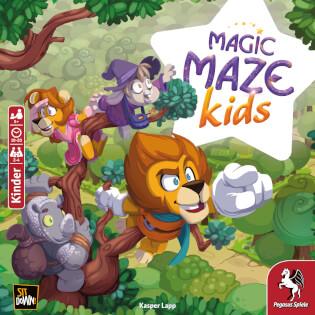 Cover- Magic Maze Kids