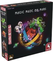 Schachtel Vorderseite, linke Seite - Magic Maze on Mars