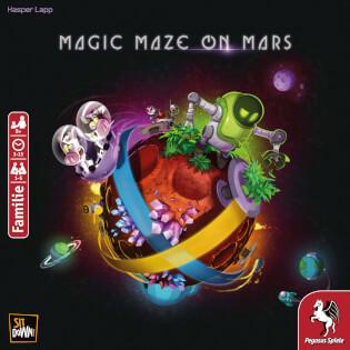 Schachtel Vorderseite- Magic Maze on Mars