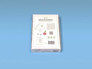 Schachtel Rückseite- Mahjong - Das chinesische Kartenspiel