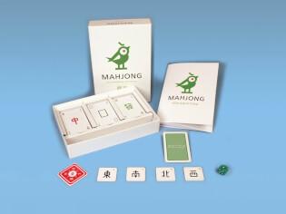 Spielmaterial - Karten und Anleitung- Mahjong - Das chinesische Kartenspiel